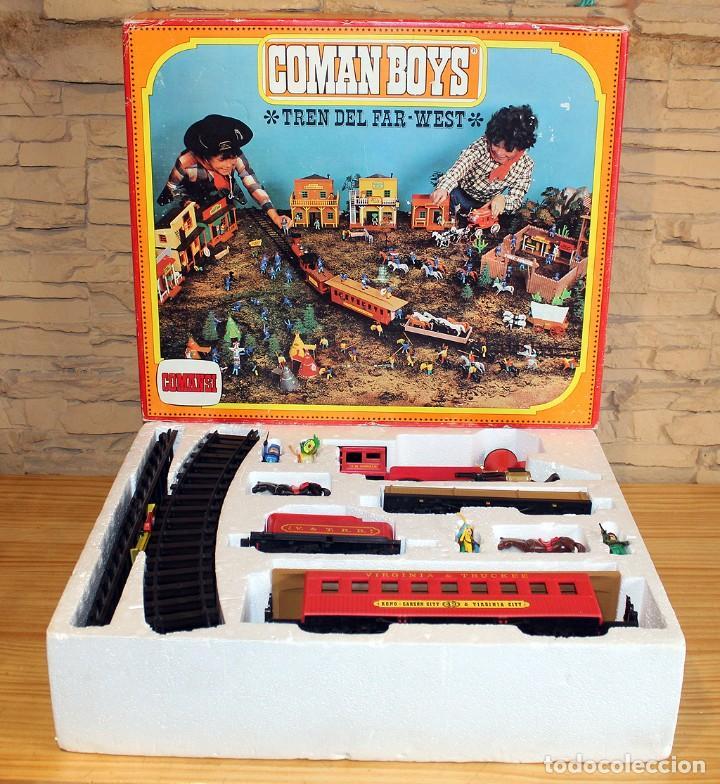 COMAN BOYS - TREN DEL FAR WEST - COMANSI - EN SU CAJA ORIGINAL - REF. 601 (Juguetes - Figuras de Acción - Coman Boys)