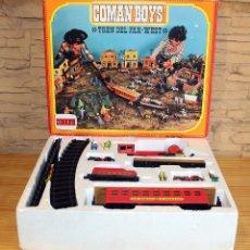 Coman Boys: COMAN BOYS - TREN DEL FAR WEST - COMANSI - EN SU CAJA ORIGINAL - REF. 601. Lote 230862445