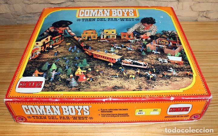 Coman Boys: COMAN BOYS - TREN DEL FAR WEST - COMANSI - EN SU CAJA ORIGINAL - REF. 601 - Foto 37 - 230862445