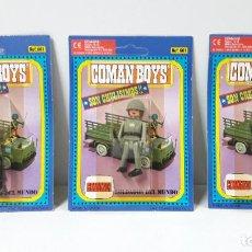 Coman Boys: TRES BLISTER DE SOLDADOS DEL MUNDO - COMAN BOYS . REALIZADO POR COMANSI . REF 661 ULTIMAS SERIES. Lote 236120790