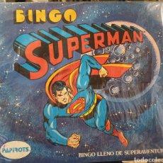 Coman Boys: SUPERMAN JUEGO BINGO COMANBOYS. Lote 243277970