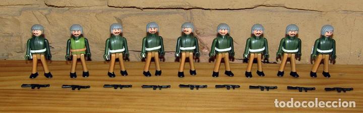 LOTE DE 9 FIGURAS DE COMAN BOYS SOLDADOS MILITARES + ARMAS - COMANSI COMANBOYS - NUEVOS (Juguetes - Figuras de Acción - Coman Boys)
