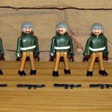 Coman Boys: LOTE DE 9 FIGURAS DE COMAN BOYS SOLDADOS MILITARES + ARMAS - COMANSI COMANBOYS - NUEVOS. Lote 250118725