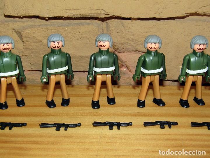 Coman Boys: LOTE DE 9 FIGURAS DE COMAN BOYS SOLDADOS MILITARES + ARMAS - COMANSI COMANBOYS - NUEVOS - Foto 3 - 250118725