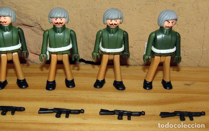 Coman Boys: LOTE DE 9 FIGURAS DE COMAN BOYS SOLDADOS MILITARES + ARMAS - COMANSI COMANBOYS - NUEVOS - Foto 4 - 250118725