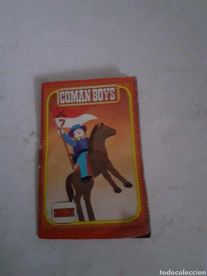 COMAN BOYS FOLLETO CATALOGO VARIAS HOJAS (Juguetes - Figuras de Acción - Coman Boys)