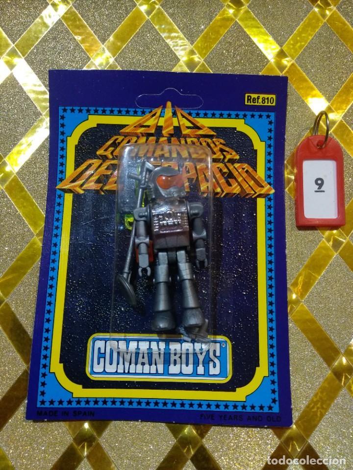 COMAN BOYS COMANBOYS FIGURAS MUÑECOS ROBOTS * (Juguetes - Figuras de Acción - Coman Boys)