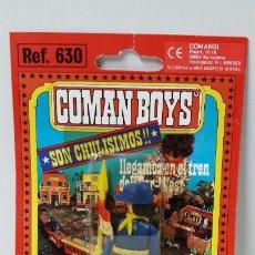 Coman Boys: BLISTER DE SOLDADO FEDERAL CON BANDERA - COMAN BOYS . REALIZADO POR COMANSI . REF 630 ULTIMAS SERIES. Lote 253169465