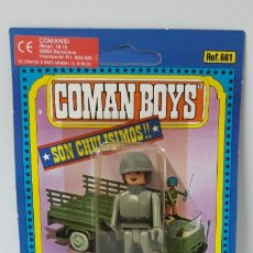 Coman Boys: BLISTER DE SOLDADOS DEL MUNDO - COMAN BOYS . REALIZADO POR COMANSI . REF 661 ULTIMAS SERIES. Lote 256102615