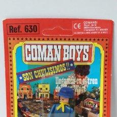 Coman Boys: BLISTER DE SOLDADO FEDERAL - COMAN BOYS . REALIZADO POR COMANSI . REF 630 ULTIMAS SERIES. Lote 256102735