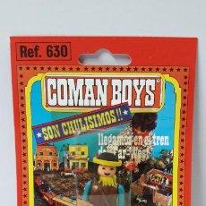 Coman Boys: BLISTER DE SOLDADO INDIO - COMAN BOYS . REALIZADO POR COMANSI . REF 630 ULTIMAS SERIES. Lote 256102955
