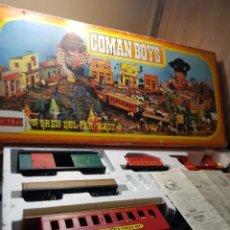 Coman Boys: TREN DEL FAR WEST-COMAN BOYS-COMANSI REF.600 EN CAJA ORIGINAL Y MANUAL. Lote 259931485