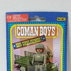 Coman Boys: BLISTER DE SOLDADOS DEL MUNDO - COMAN BOYS . REALIZADO POR COMANSI . REF 661 ULTIMAS SERIES. Lote 262443520
