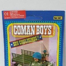 Coman Boys: BLISTER DE SOLDADOS DEL MUNDO - COMAN BOYS . REALIZADO POR COMANSI . REF 661 ULTIMAS SERIES. Lote 262443650