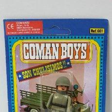 Coman Boys: BLISTER DE SOLDADOS DEL MUNDO - COMAN BOYS . REALIZADO POR COMANSI . REF 661 ULTIMAS SERIES. Lote 262443745