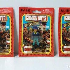 Coman Boys: TRES BLISTER DE SOLDADOS FEDERALES - COMAN BOYS . REALIZADO POR COMANSI . REF 630 ULTIMAS SERIES. Lote 265327604