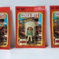 Coman Boys: TRES BLISTER DE INDIOS - COMAN BOYS . REALIZADO POR COMANSI . REF 630 ULTIMAS SERIES. Lote 265327869