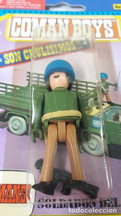 Coman Boys: TRES BLISTER DE SOLDADOS DEL MUNDO - COMAN BOYS . REALIZADO POR COMANSI . REF 630 ULTIMAS SERIES - Foto 4 - 265328669