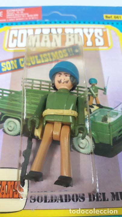 Coman Boys: TRES BLISTER DE SOLDADOS DEL MUNDO - COMAN BOYS . REALIZADO POR COMANSI . REF 630 ULTIMAS SERIES - Foto 5 - 265328669