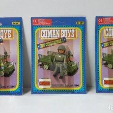 Coman Boys: TRES BLISTER DE SOLDADOS DEL MUNDO - COMAN BOYS . REALIZADO POR COMANSI . REF 630 ULTIMAS SERIES. Lote 265328669