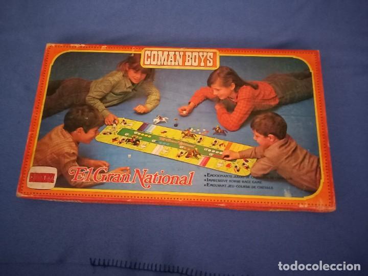JUEGO EL GRAN NATIONAL, COMAN BOYS, COMANSI, SIN ESTRENAR, MADE IN SPAIN (Juguetes - Figuras de Acción - Coman Boys)