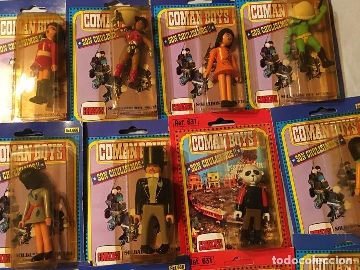 Coman Boys: 12 COMAN BOYS COMANSI SOLDADOS DEL MUNDO Y FAR WEST - Foto 2 - 288054018