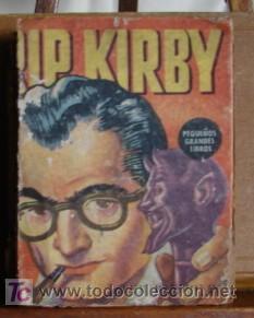 RIP KIRBY, RARO E INHALLABLE LIBRITO EN PRIMERA EDICION! (Tebeos y Comics - Buru-Lan - Rip Kirby)