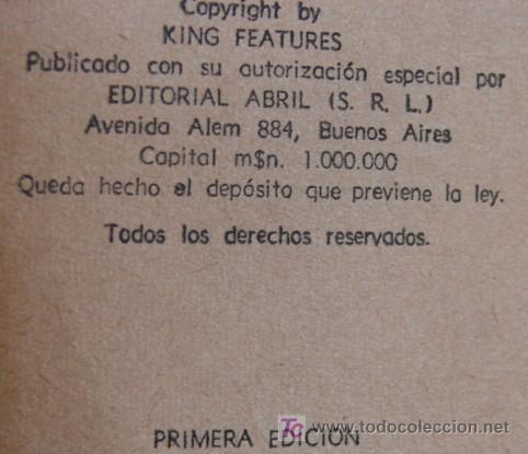 Cómics: RIP KIRBY, RARO E INHALLABLE LIBRITO EN PRIMERA EDICION! - Foto 3 - 27120966