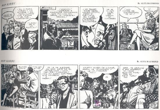 Cómics: RIP KIRBY. Nº 4. -Alex Raymond-. Ed. ESEUVE, 1990. (64 páginas. 31,5x22,5 cm.). - Foto 2 - 27280141
