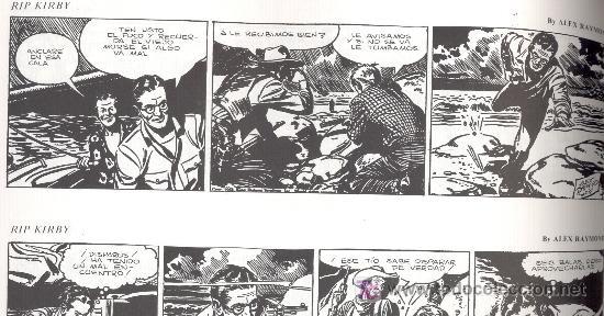 Cómics: RIP KIRBY. Nº 4. -Alex Raymond-. Ed. ESEUVE, 1990. (64 páginas. 31,5x22,5 cm.). - Foto 3 - 27280141