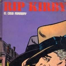 Cómics: EL CASO FARADAY -RIP KIRBY-BURULAN1974-80 PAGINAS COLOR. Lote 4126567