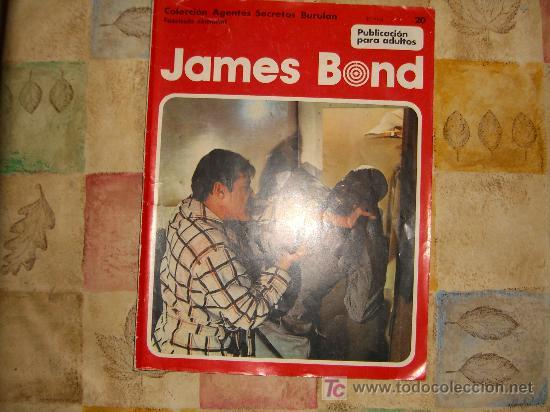 JAMES BOND.FASC 20.BURU LAN CJ 28 (Tebeos y Comics - Buru-Lan - James Bond)