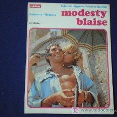Cómics: MODESTY BLAISE 120 PAG - BURU LAN 1974 - ¡¡ESTADO COMO NUEVO!!. Lote 69226745