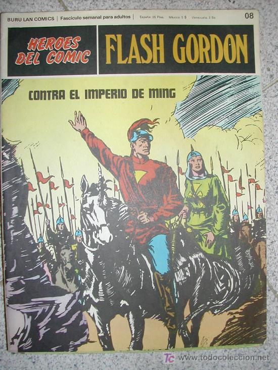 FLASH GORDON BURULAN. A ELEGIR. CONSULTAR NUMEROS ANTES DE COMPRAR (Tebeos y Comics - Buru-Lan - Flash Gordon)