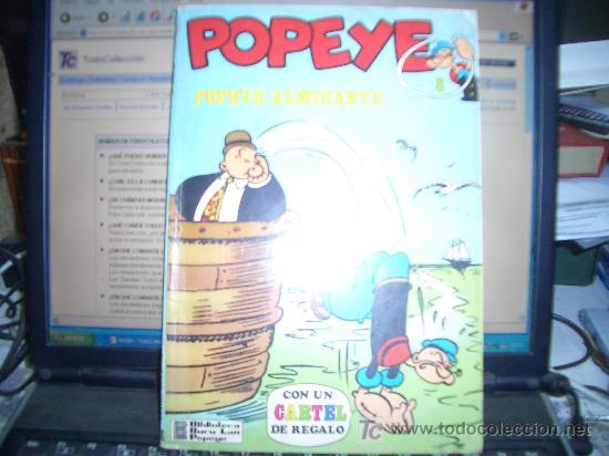 POPEYE ALMIRANTE BURULAN (Tebeos y Comics - Buru-Lan - Popeye)