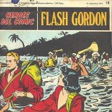 Cómics: FLASH GORDON Nº 19 - HEROES DEL COMIC - BURU LAN. Lote 26895422