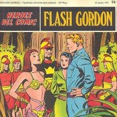 Cómics: FLASH GORDON Nº 14 - HEROES DEL COMIC - BURU LAN. Lote 26895420