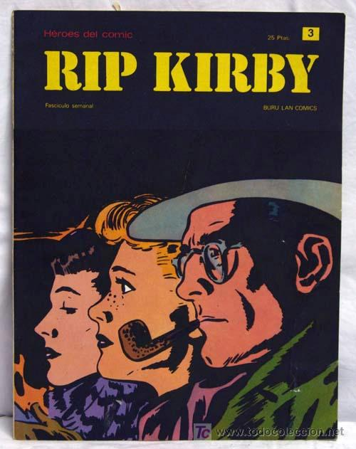 RIP KIRBY Nº 3 EDITORIAL BURU LAN BURULAN 1973 (Tebeos y Comics - Buru-Lan - Rip Kirby)