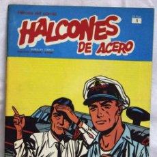 Cómics: HALCONES DE ACERO Nº 1 EDITORIAL BURU LAN BURULAN 1973. Lote 5405204