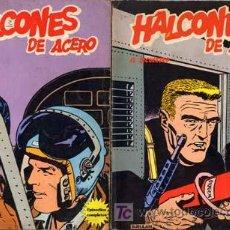 Cómics: HALCONES DE ACERO BURU LAN 1974 EL SECUESTRO+VETOL- EL PLAN DE MISTER KINKADE SUELTOCONSULTA CAJ 100. Lote 25723584