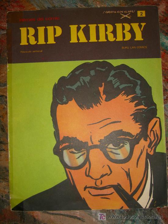 RIP KIRBY.FASCICULO NUMERO 2 DE BURU LAN CJ 28 (Tebeos y Comics - Buru-Lan - Rip Kirby)