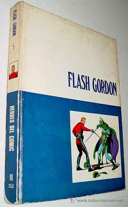 FLASH GORDON - FLASH GORDON - TOMO 1 - BURU LAN, S.A. - AÑO 1971 - 240 PAGINAS - TAL COMO SE VE EN L (Tebeos y Comics - Buru-Lan - Flash Gordon)