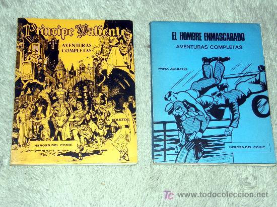 PRINCIPE VALIENTE Y EL HOMBRE ENMASCARADO ( LOS 6 PRIMEROS NUMEROS DE CADA UNO ) (Tebeos y Comics - Buru-Lan - Otros)