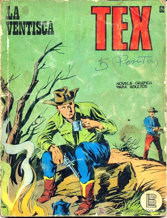 TEX Nº 52, 'LA VENTISCA' (Tebeos y Comics - Buru-Lan - Tex)