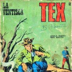 Cómics: TEX Nº 52, 'LA VENTISCA'. Lote 27282127