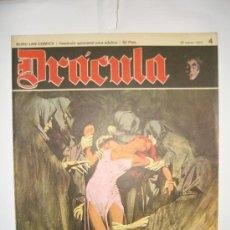 Cómics: DRACULA DE BURU LAN.AÑO 1971. FASCICULO NUMERO 4. Lote 6259786