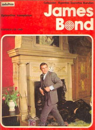 JAMES BOND. SOMBRAS DE ORO (ALBUM NUMERO 2). EDITORIAL BURU LAN (Tebeos y Comics - Buru-Lan - James Bond)