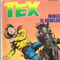 Cómics: TEX - MINGO EL REBELDE NUM 12***1983. Lote 6768633