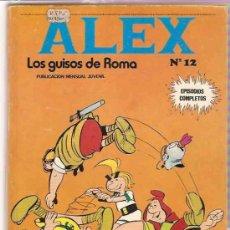 Cómics: ALEX Nº 12 - BURU LAN 1974 - ORIGINAL. Lote 11154925