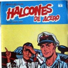 Cómics: HALCONES DE ACERO (BURU LAN) (3 EJEMPLARES). Lote 12578386